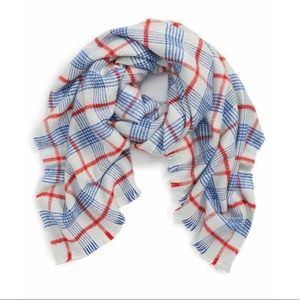 Leith tartan plaid blanket scarf